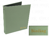 Birding Ring Binder Turned Edge Cloth