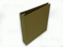 Crane Binder Technologies enviro binders made from recycled kraft paper and turned edge onto recycled stiff board. ECO friendly and green.
