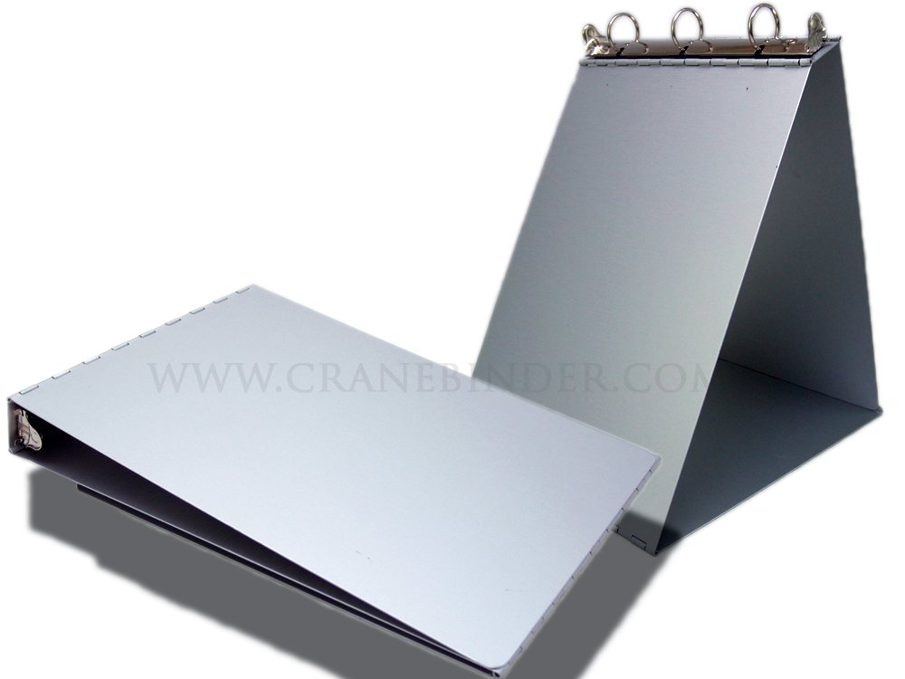 Aluminum Easel Ring Binder