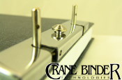 Ledger binders, post binder, Slotted Lock, Crane Binder,