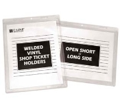 C-Line 80058 5x8 vinyl holder shop ticket