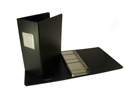 "AJAX Binders fixed 3 post 3"" capacity heavy duty turned edge catalog binder"